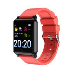 2020スマートな腕時計NFC F52 Bluetoothの腕時計の練習の歩行機械サポート血の酸素は2020年に人間の特徴をもつ電子工学に適用する