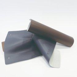 Couro de PVC retardante de chamas durável com revestimento de tecido para viver o revestimento das paredes do quarto