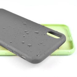 La poussière de silicone liquide solide Téléphone Étui pour iPhone TPU couvercle mobile cas mobile