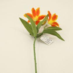 Billig gebildet in der China-Lilien-Spray-Blumen-Hochzeits-Dekoration Dy1-490