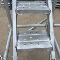 De pre-gegalvaniseerde Bouw van de Plank van het Staal van de Raad van Decking van de Plank van het Metaal van de Steiger