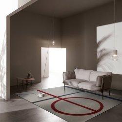 簡単な敷物のヨーロッパのカーペットのウールのCarepetsの一面の敷物