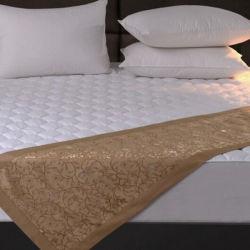 de Hollowfibre Gevulde Beschermer van de Matras van het Hotel 100%Polyester (DPH6132)