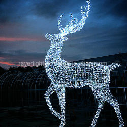 Гигантские светодиодные оленей String декоративных мотивов для украшения Xmas