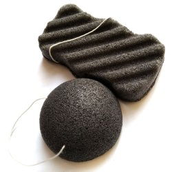 Volwassene dagelijks gebruikt biologisch afbreekbaar 100% natuurlijke Konjac spons met zacht Massage