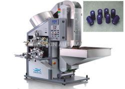 ماكينة ختم زجاجات بلاستيكية آلية وقناني معدنية ساخنة (الطباعة العلوية) لغطاء زجاجة النبيذ