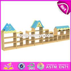 As crianças de creches multifuncional mobiliário artesanal de brinquedos de madeira ideias de Armazenamento W08C179