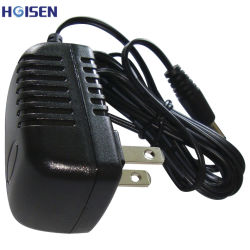 3V/2A/6W de Adapter van de Macht van de reeks AC/DC met de Draad van de Kabel van de Stop Ce/RoHS/UL van de V.S.