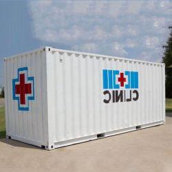 Удобный транспорт готов к работе в клинике контейнер дом быстрого создания чрезвычайных сегменте панельного домостроения в контейнер для беженцев