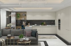 Mate Modular kitchen cabinet lujo MDF
