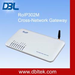 Rádio RoIP302M Cross-rede gateway / GSM / VoIP / SIP Servidor