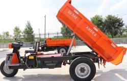 Elektrische driewieler met laadbak/minidoper met 1 T /Diesel driewieler voor mijnbouw/Bouw Mini-doorverbindingsmachine/hydraulische lift Cargo driewieler
