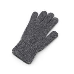 Классический серый дрсуга обычная трикотажные теплые перчатки Мужчины Женщины Зимой открытый трикотажных изделий