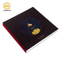 Personalizar o atordoamento Butterfly vinculativo capa dura de papelão grosso mesa de café a impressão de livros de catálogo