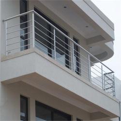 Moderne trap Rod Railing RVS Balkon Balustrade Fancy trap Railing Luxe Balustrade ontwerpen voor Indoor Outdoor