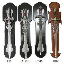 アンティークな装飾 - アーチ化された刀のナイフ