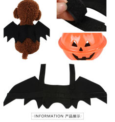 Cat Accessoriesの上のPet Dog Cat Costumes Halloween Christmas Cosplay Clothing Funny Xmas Spider Dressのための翼