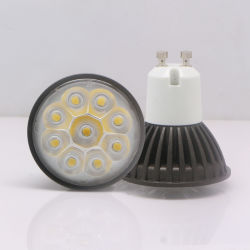 GU10 3W 85-265V Warm White LED Spotlight