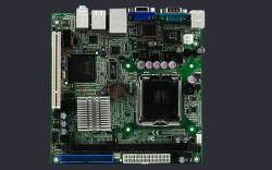 ITX материнской плате 945GC поддерживают двухпроцессорные конфигурации локальной сети