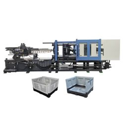 GF530ЭГ пластиковой тары бумагоделательной машины пластиковый ящик машины литьевого формования