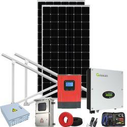 2000W Kit de panneau solaire de l'énergie électrique d'épargne 2000WH sur onduleur sur réseau 2kw//
