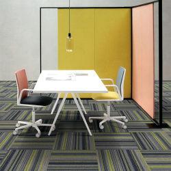 Декоративные красочный дизайн огнеупорный толстых свай с шестигранной головкой коммерческое ковровое покрытие плитки 100% нейлон коврик