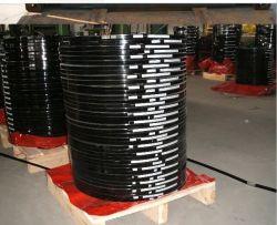 Черный Окрашенная сталь упаковка газа, выдвижной дуги утюг 19мм 25мм, 32 мм