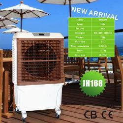 Resfriador de Ar por evaporação portátil com Mobile Castor (Jh168)