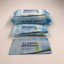 항균 알콜 닦음, 부대 당 손 Sanitiser 젖은 조직 10PCS