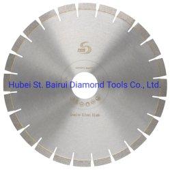 14 インチ 350mm サンドイッチサイレントスチールコアセグメント化花崗岩切断円形 ダイヤモンドソーブレード切削工具