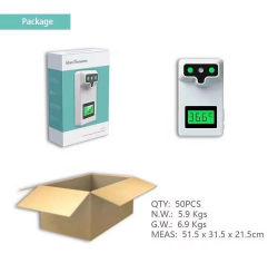 온도 측정 기능이 있는 액세스 제어 장비, 지능형 적외선 검출기, 비접촉 온도 측정 카메라