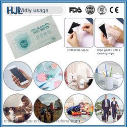 1 портативных ПК одноразовые промышленных дезинфицирующий раствор спирта Non-Woven ткани влажной ткани для ежедневного использования стерилизация дезинфекция очистка