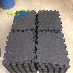 Salle de Gym de puzzle tapis de plancher, un Terrain de Jeu Tapis en caoutchouc/caoutchouc tuiles stable