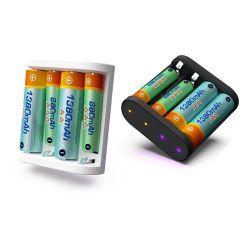 3U-80720 Isdt A4 10W 1.5A AA AAA DC chargeur de batterie intelligente
