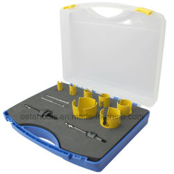 Electricista TCT de sierras de corona multiuso 10405015 Kit de herramientas de perforación