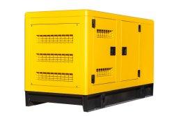 12.5kVA 10kw Refroidissement par eau portatif Groupe électrogène Diesel silencieux avec l'ATS pour la vente