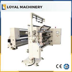 Riesiges Rollenkunstdruckpapier-aufschlitzende Maschine mit Shaftless Laden