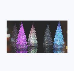 Nouvelle conception du moule de moulage permanent léger en plastique coloré de Noël le Service de moulage par injection Maker