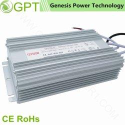 300W 12V 24V de conmutación de CCTV LED impermeable AC DC Driver transformador de salida única fuente de alimentación en el exterior IP67 Fuente de alimentación conmutada plena potencia