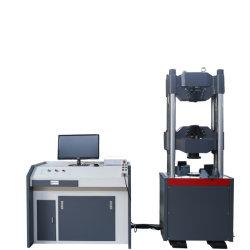 La plaque en acier Laminage à froid à la Traction// Machine d'essai de flexion de compression hydraulique Les tests de matériaux de la machine universelle
