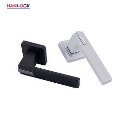 Tipo di alluminio insieme del tubo della Cina della leva del nichel della spazzola della maniglia di portello della serratura di portello