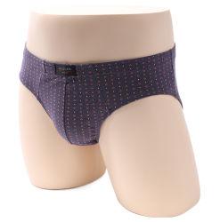 Logo personnalisé respirant les hommes Plus Size en coton naturel organique solide slips confortable de mémoires d'hommes et les boxeurs de sous-vêtements