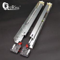 Cassetto a chiusura morbida a estensione totale per armadio a scorrimento con connettori