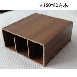 Duradero y estable, Diversos Estilo, revestimiento de acero compuesto Wood-Plastic (WPC) Columna Post