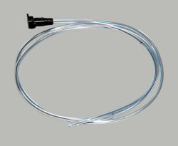 Médicos estériles desechables sonda nasogástrica de PVC con Ce negro ISO