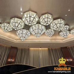 Hotel-Projekt-nach Maß Dreieck-Glasdecken-Lampe (KAJ18007)