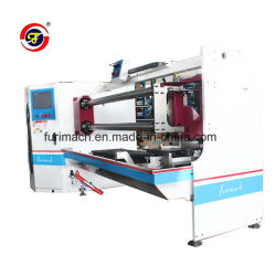 Furimach Double Shaft High Speed Adhesive Tape/Bopp/Aluminium Foil Slitting Machine/Packing Tape Cutting Machine/Vinyl Roll Slitter/Sellotape/Masking Tape Cutter