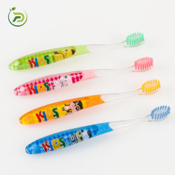 فرشاة أسنان أطفال كريستال كارتون مثالية للبيع في المصنع الساخن