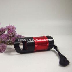 Multifuncional personalizado 6 LEDs lanterna com garrafa de presente de promoção do Sulcador