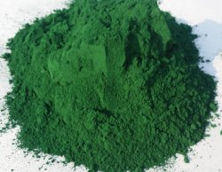 معقّدة [إيرون وإكسيد] اللون الأخضر لأنّ خرسانة